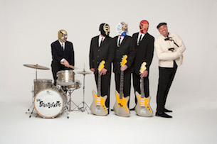 Los Straitjackets featuring Deke Dickerson / The B-Sides