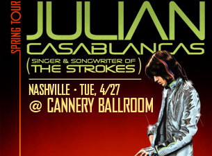 Julian Casablancas featuring (Singer & Songwriter of The Strokes) with HAIM