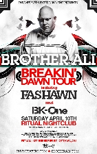 BROTHER ALI plus with special guests / FASHAWN / BK ONE