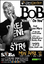 B.o.B. with special guest Sugar Tongue Slim, hosted by Angela Yee