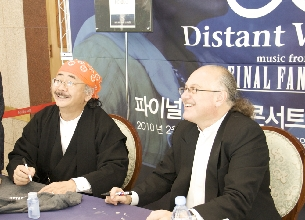 Meet Nobuo Uematsu and Arnie Roth of Distant Worlds!