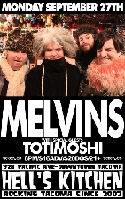 MELVINS with TOTIMOSHI