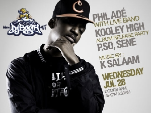 DJBooth Presents Phil Ade, Kooley High, featuring P.So, Sene / music by K Salaam