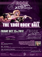 Rock Asylum Foundation Presents THE 'EDGE ROCK' BALL