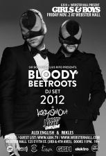 Girls & Boys featuring The Bloody Beetroots with Kissy Sellout + NOBODY BEATS THE DRUM + Alex English + rekLES