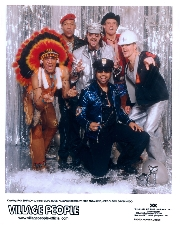 The Village People with Dick n Jane