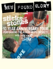 New Found Glory : Sticks and Stones Tour