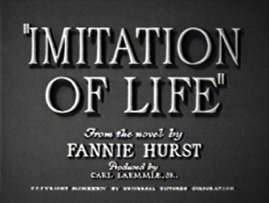 IMITATION OF LIFE featuring Adapted and Directed by John Ruffin