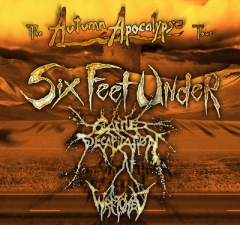 Six Feet Under plus Wretched / Sh*tkill