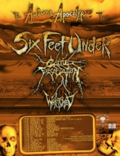 Six Feet Under with Cattle Decapitation, Wretched, Demoralizer & more