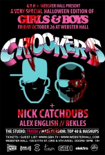 A Very Special Halloween Edition of featuring Girls & Boys with Crookers + Nick Catchdub plus Alex English & rekLES and Very Special Guests