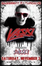 BASSMENT SATURDAYS featuring Vaski