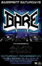 BASSMENT SATURDAYS featuring Bare