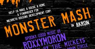 Monster Mash for Nazereth Housing featuring Roxxymoron * The Mickeys * The Highland Square Community Drum Circle