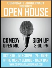 Open House : A Comedy Open Mic!