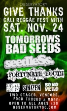 Tomorrows Bad Seeds featuring Seedless / Fortunate Youth / Sono Vero / Simpkin Project / Sinizen / Remedy for Kill