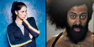 Sarah Silverman plus Reggie Watts