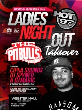 GIRLS NIGHT OUT TAKEOVER starring Cipha Sounds / DJ Spynfo / DJ Magic