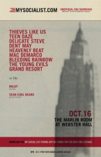 Thieves Like Us plus Teen Daze / Delicate Steve / Dent May / Heavenly Beat / Mac Demarco / Bleeding Rainbow / The Young Evils / Grand Resort