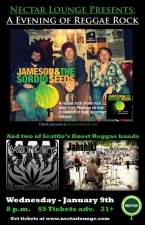 JAMESON &amp; THE SORDID SEEDS with Wet City Rockers and Jahshiki
