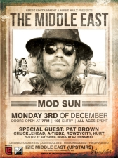 Mod Sun with Pat Brown, and more.