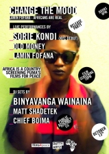 Change The Mood featuring Sorie Kondi (NYC Debut) / Old Money / Lamin Fofana plus DJs Binyavanga Wainaina, Matt Shadetek, And Chief Boima