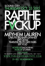 MEYHEM LAUREN with Lakutis, Big Baby Gandhi and Spit Gemz / Timeless Truth / Gee Dubs / Eff Yoo