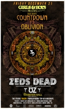Girls & Boys presents COUNTDOWN TO OBLIVION with Zed's Ded + UZ