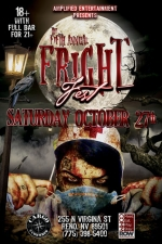 5th Annual Fright Fest Halloween Party Presented by Amplified Entertainment Featuring DJ Kentot, DJ Fredy G & DJ Boom