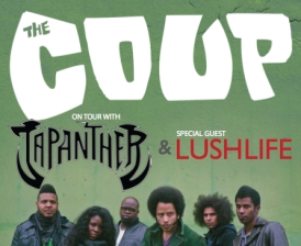 The Coup with Japanther, Kev Choice & Lushlife