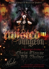 TWISTED DUNGEON HALLOWEEN 2012 featuring Chris Clouse & Zhaldee