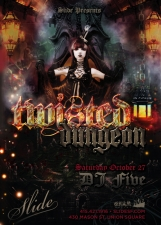 TWISTED DUNGEON HALLOWEEN 2012 featuring DJ Five