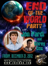 END OF THE WORLD PARTY with JON PARDI and Corey Cox