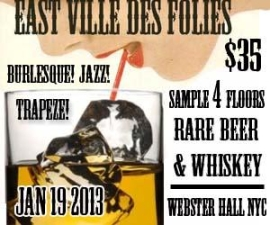 East Ville Des Folies : Beer & Whiskey Festival