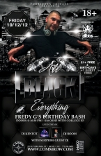 Forbidden Fridays - All BLACK Everything Party Presented by Amplified Entertainment Featuring DJ Kentot , DJ Boom