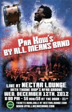 PAA KOW'S BY ALL MEANS BAND with Thione Diops Afro Groove