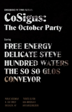 Free Energy / Delicate Steve / Hundred Waters / The So So Glos / Conveyor