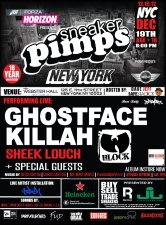 Ghostface Killah x Sheek Louch x Sneaker Pimps NYC