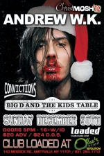 Andrew W.K. featuring Big D and the Kids Table / The Blazing Beaverducks