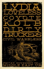 Lydia Loveless with Coyote Kolb, The Dirty Truckers, Civil Warblers