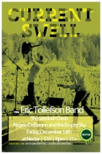 CURRENT SWELL with Eric Tollefson Band , Shenandoah Davis and Angelo DelSenno &amp; the Empty Sky