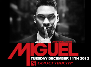 An Evening with Miguel : Live In Concert