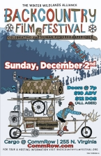 8th Annual Backcountry Film Festival Presented by Winter Wildlands Alliance