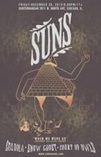 Suns / Sequoia / Snow Ghost / Court of Owls