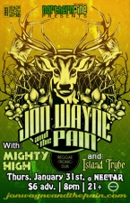 Jon Wayne and the Pain with Mighty High and Island Trybe