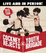 Cockney Rejects & Youth Brigade with Potato Pirates / The Bad Engrish
