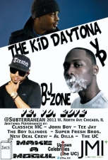 The Kid Daytona / YP / Broadway / DJ O-Zone / Classick MC / The Boy Illinois / John Boy / The UC / Super Fresh Boys / JDott Trife / G-BALL / Chi City / Tee Jay / Al Dilla / DJ Rosskid