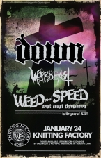 Down featuring members of Pantera, Corrosion of Conformity and Superjoint Ritual / Warbeast / Lord Dying