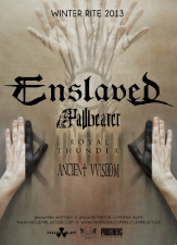 Enslaved with Pallbearer, Royal Thunder & Ancient VVisdom plus A Life Once Lost & Sunburster