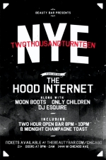 NYE: Two Thousand Turnteen featuring The Hood Internet Along With Moon Boots / Only Children / DJ Esquire